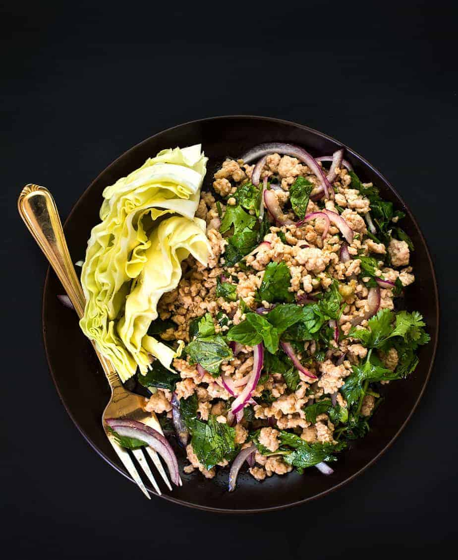Easy Larb Recipe with Chicken